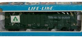 Life Like Thrall all Door Weyerhaeuser Green Number 4687 Used in Box