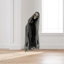 Halloween Peekaboo Standing Animated Ghoul with Curtain New Halloween Pr... - $79.19