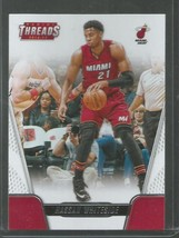 2016-17 Panini Threads #40 Hassan Whiteside NM-MT Heat - $1.25