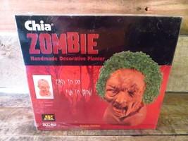 Chia Zombie Creepy Holden Chia Pet Planter New Sealed - $9.89