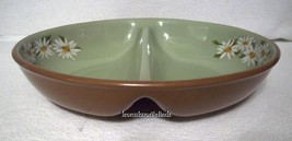 Taylor Smith Taylor Lazy Daisy Oval Divided Vegetable Bowl / Casserole image 1