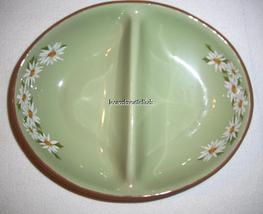 Taylor Smith Taylor Lazy Daisy Oval Divided Vegetable Bowl / Casserole image 6