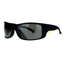 Be One Polarized Sunglasses Mens Oversized Wrap Shield Rectangular Frame - $11.83+