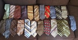Lot of 23 Mens Dress Ties - $14.84