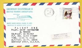 GRUMMAN GULFSTREAM SHUTTLE TRAINING FLIGHT ONE WSMR, NM AUG 13 1976 - $1.78