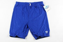 Vintage 80s Neuf Adidas Homme XL Sort Out Spandex Cyclisme Course Short ... - $60.57