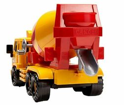 Daesung Toys Super Dump Truck and Concrete Mixer Car Vehicle Heavy Equipment Set image 5