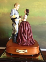 San Francisco Music Box Co - Scarlett & Ashley The Sash Gone With the Wind - $300.00