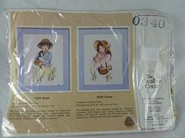 Vintage The Creative Circle Vintage Cross Stitch Kit #0340 Jenny - $29.58