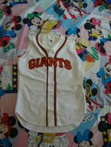Vintage San Francisco Giants Authentic Russell Athletic Sleeveless Jersey L - $69.29