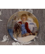 ORPHAN ANNIE Souvenir Collector Plate SANDY Dog BRADEX KNOWLES Limited E... - $19.95