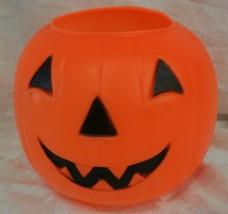 General Foam Plastic Blow Mold Pumpkin Pail Halloween Bucket Jack-O-Lant... - $5.93
