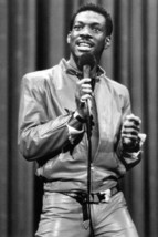 Eddie Murphy Leather Pants and Jacket On Stage 18x24 Poster - $23.99