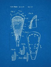 Lacrosse Stick Patent Print - Blueprint - $7.95+