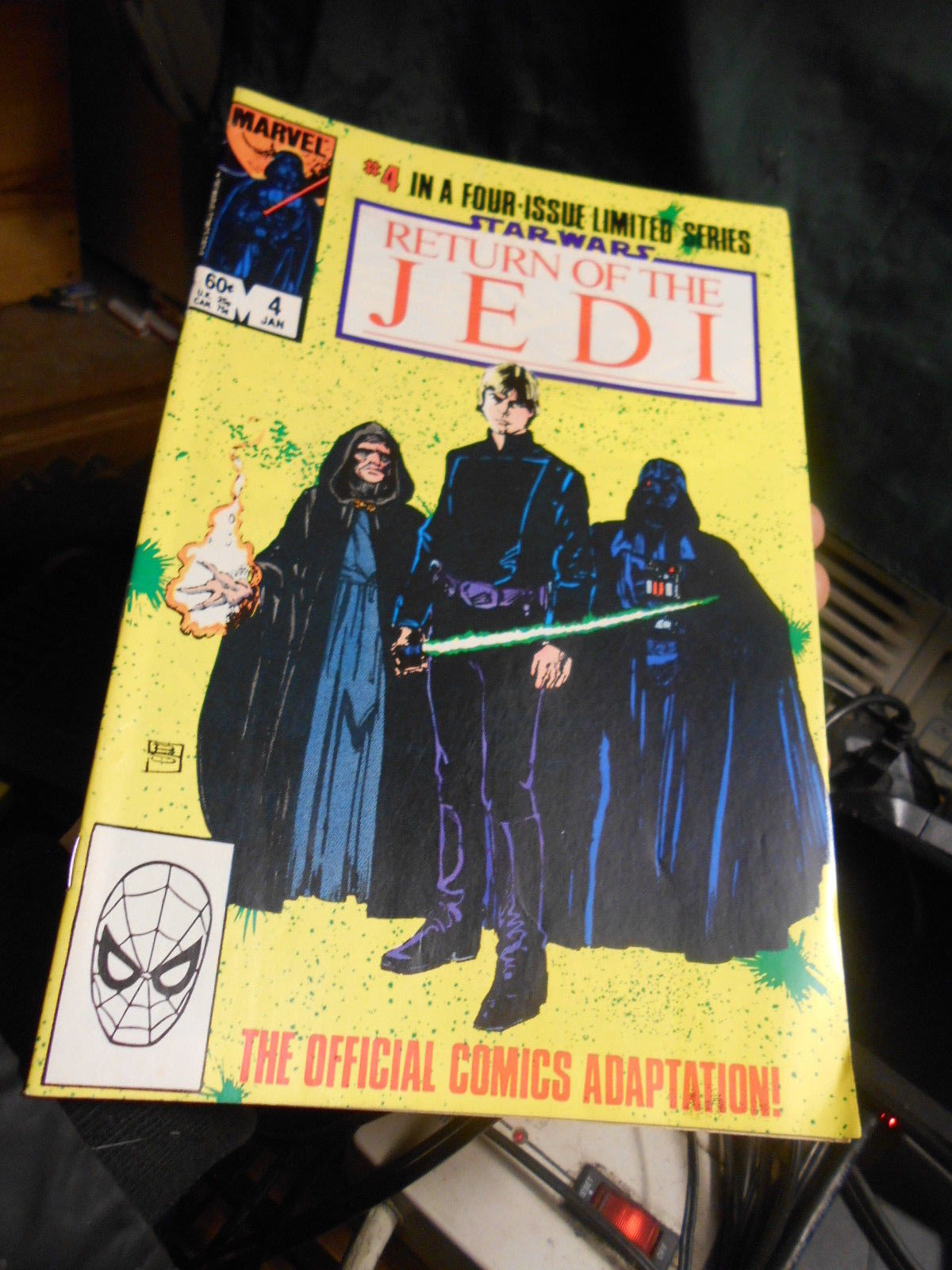 Star Wars RETURN OF THE JEDI #1-4 in sealed  publisher's bag pack High Grade