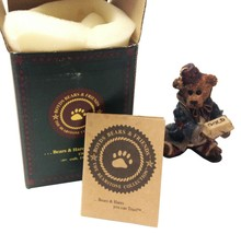 Boyds Bears Nativity, Wilson as Melchior with Gold, PRISTINE, complete, ... - $15.95