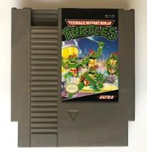 ☆ Teenage Mutant Ninja Turtles TMNT (Nintendo 1989) NES AUTHENTIC Game C... - $9.90