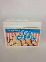 Fisher Price Fun with Food Replacement Cake Ice Cream Milk Box Vintage 1989 - $16.88
