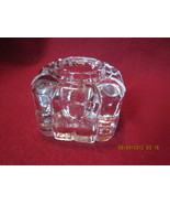 Antique Clear Glass Inkwell  Lot No.1 - $26.99