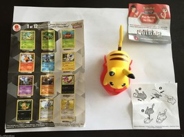 "Pokemon #1 McDonald's Happy Meal 2012 Pikachu Black & White 3.5"" Action ... - ₹557.81 INR"