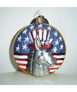 Christopher Radko Dem Donkey's Ornament Democrat Donkey   - $55.00