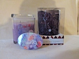 Colonial Candle Boxed Purple Electric Wax Warmer, Snap & 8 oz Jar- PERSI... - $36.00