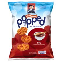 Quaker Popped Rice Crisps, BBQ, Gluten Free, 3.03 oz - $7.15