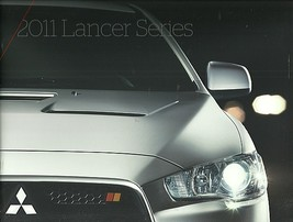 2011 Mitsubishi LANCER brochure catalog RALLIART EVOLUTION X 11 US - $12.00