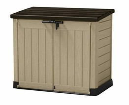 Keter Store-It-Out MAX 4.8 x 2.7 Outdoor Resin Horizontal Storage Shed - $211.95