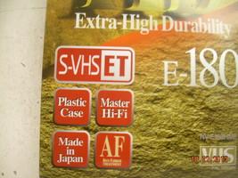 NOS Panasonic VHS Tapes Extra High Durability Sealed E-180 Master HD image 2