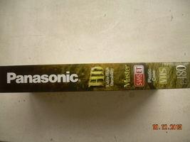 NOS Panasonic VHS Tapes Extra High Durability Sealed E-180 Master HD image 5