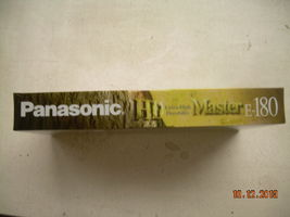 NOS Panasonic VHS Tapes Extra High Durability Sealed E-180 Master HD image 6