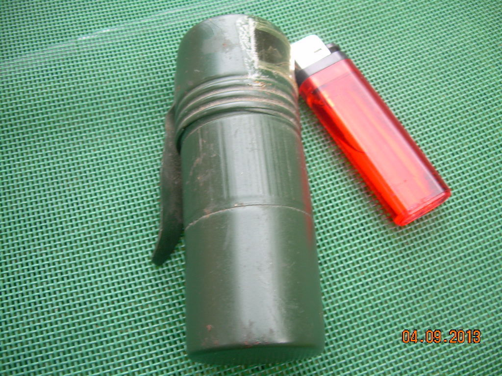 Very Rare Vintage Soviet Russian Ussr  Military Signal Flashlight About 1960