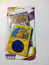 Pokemon Unified Minds Blister Pack with promo, coin, and 1 pack of cards... - $5.99