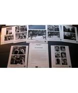 RIDLEY SCOTT,DIR,RUSSELL CROWE (GLADIATOR) ORIG,PRESSKIT PHOTO SET - $98.99