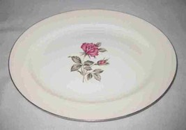 """Neat Vintage 11 3/4"""" X 9 1/2"""" China Platter With Roses - $24.00"""