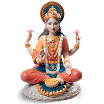 Lladro 01009229 GODDESS SRI LAKSHMI Buddhism and Hinduism 9229 New - $1,004.01