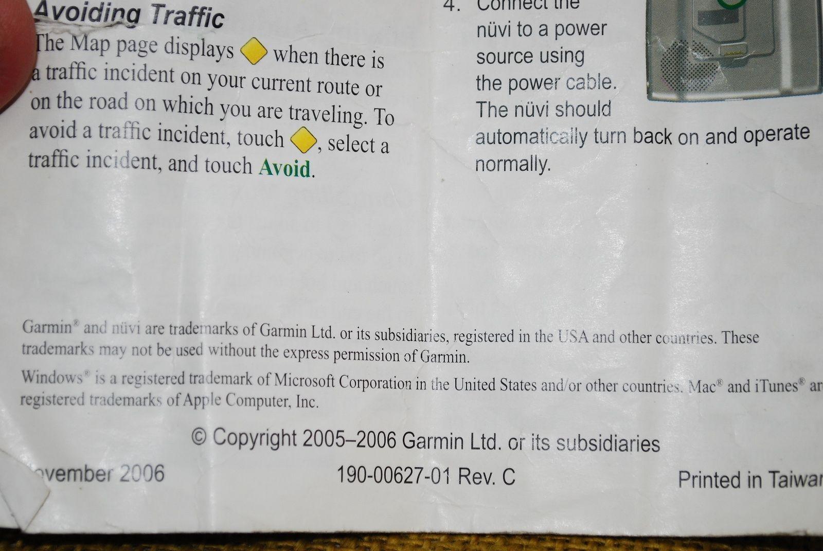 "... GARMIN NUVI 350 NA Navigator 3.5"" Touch Display w/Accessories MP3 + User  Guide"