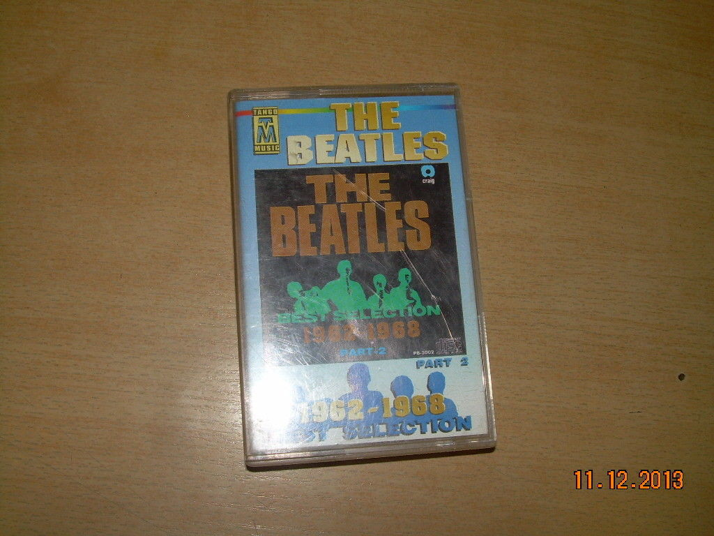 The Beatles The Best Selection 1962 - 1968 Part 2 Cassette Polish Release Poland