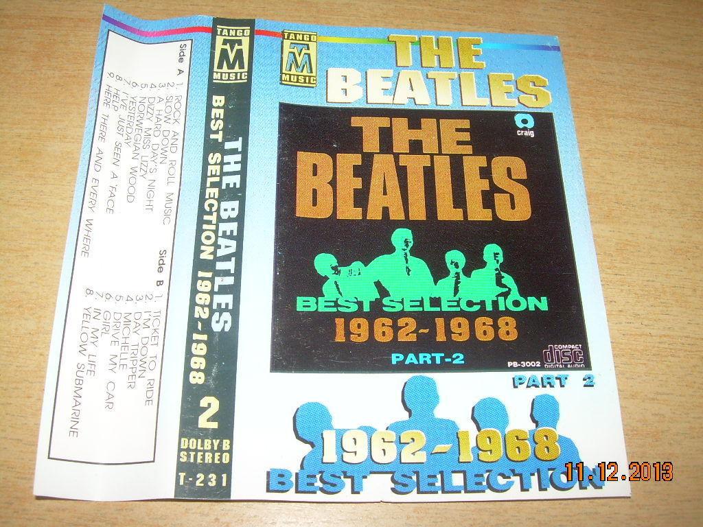 The Beatles The Best Selection 1962 - 1968 Part 2 Cassette Polish Release Poland image 4