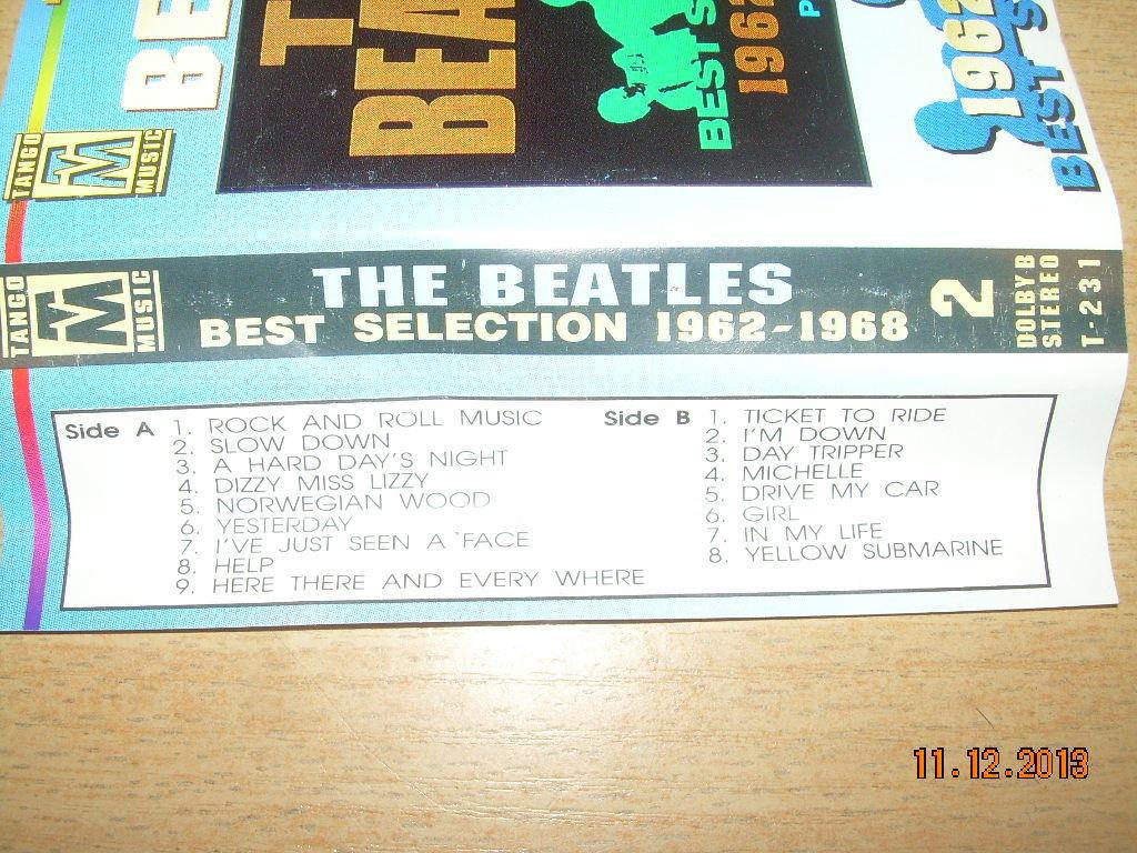 The Beatles The Best Selection 1962 - 1968 Part 2 Cassette Polish Release Poland image 5
