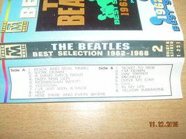 The Beatles The Best Selection 1962 - 1968 Part 2 Cassette Polish Release Poland image 6