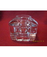 Antique Clear Glass Inkwell Lot No. 2 - $26.99