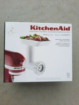 Kitchenaid Stand Mixer Attachment Food Grinder Meat Cheese Vegetables New - $59.39