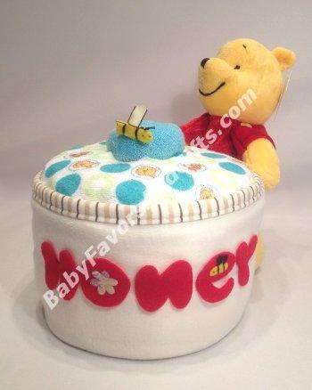Diaper cakes honeyjar
