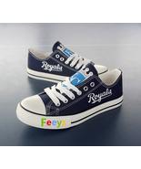 Kansas city royals shoe womens kc royals sneakers baseball fashion birth... - $55.00+