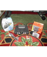 Nintendo 64 Charcoal Grey Console (NTSC) LEGO RACERS  and memory card - $89.09