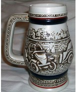 1982 Vintage Cars Ceramarte Stein Handcrafted in Brazil exclusively Avon... - $5.95