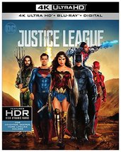 Justice League (4K Ultra HD+Blu-ray+Digital, 2018))