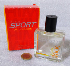 Rare Vintage Perfume ✿ Avon Sport Action Kick ✿ Spray Man Parfum Boxed (50ml) - $20.89